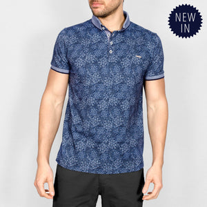 Bewley & Ritch Theron Polo Shirt - Navy