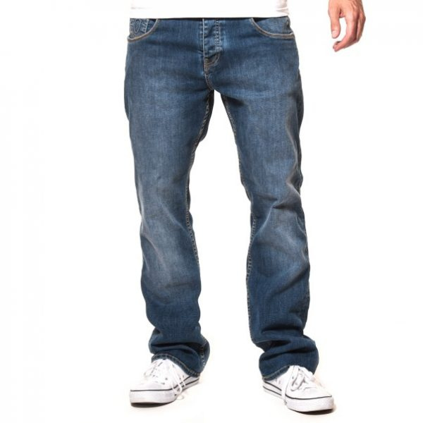 883 Police Boot Cut Jean - Mid Wash
