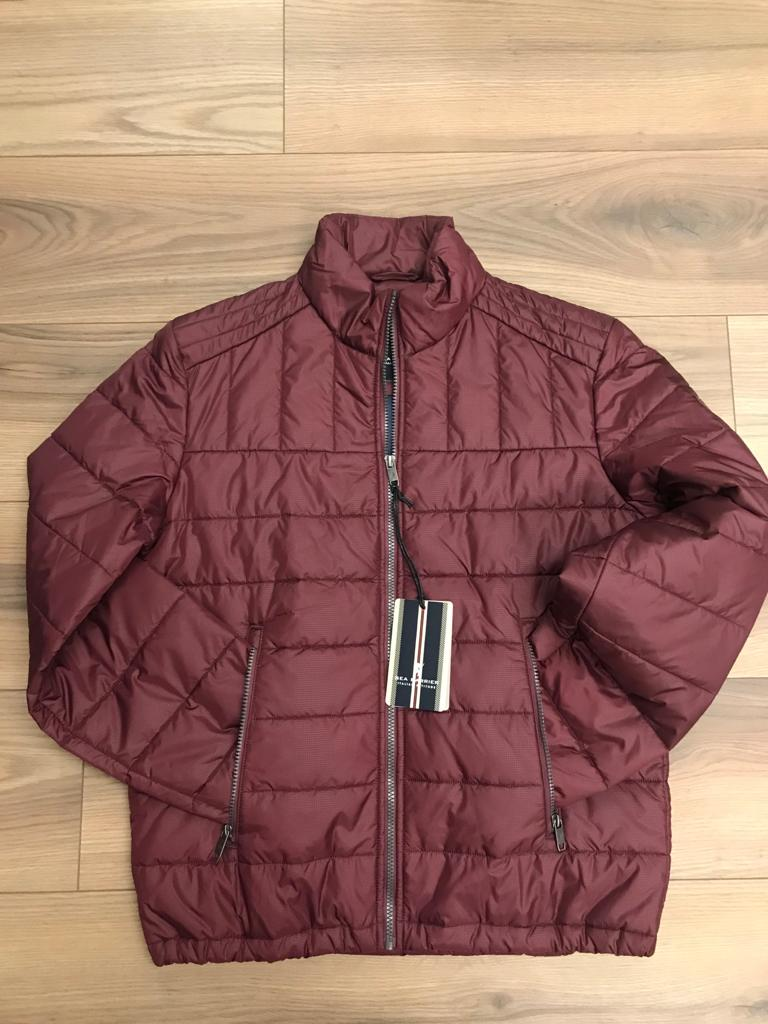 Sea Barrier Cervisia Jacket - Burgundy - jjdonnelly