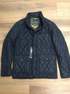 Sea Barrier Bells Jacket - Navy - jjdonnelly
