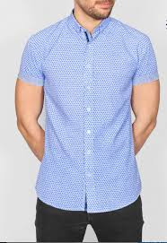 Bewley & Ritch Ward Shirt - Sky