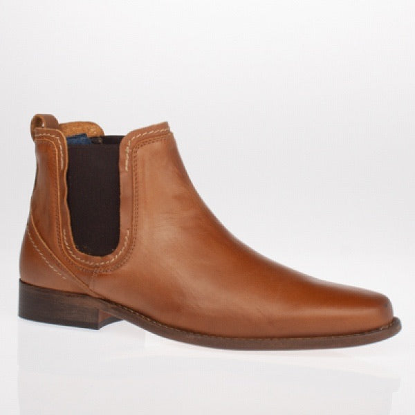 Escape Austin Chelsea Dealer Boot - Tan - JJ Donnelly