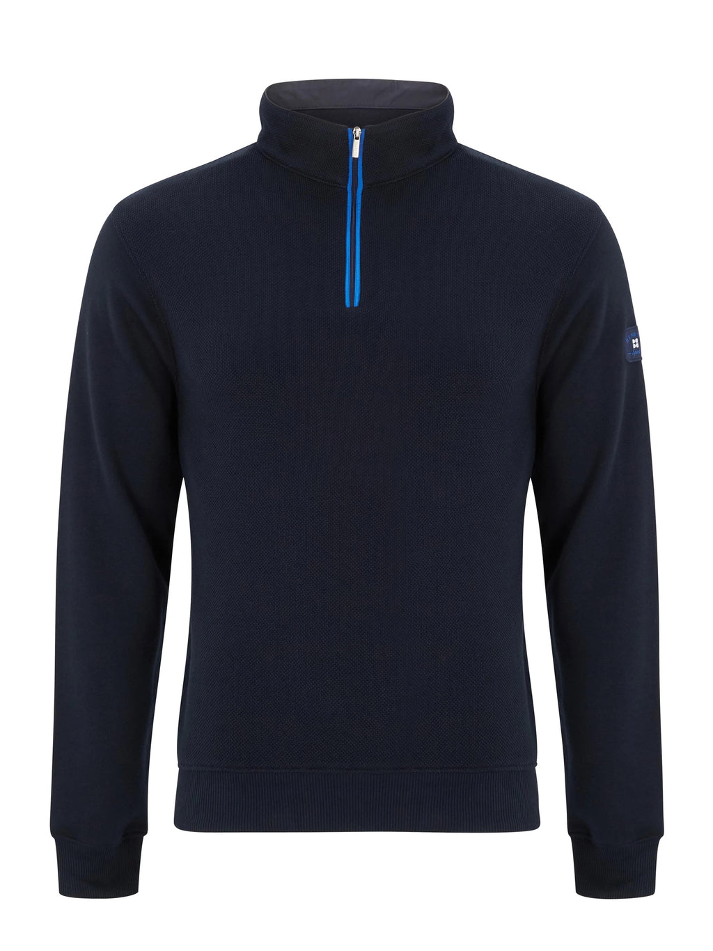 Benetti George Half Zip - Navy - jjdonnelly