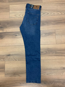 Scott & Wade Miami Straight Leg Jean - Blue Wash - jjdonnelly
