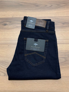 Fynch Hatton Straight Leg Jean - Navy - jjdonnelly