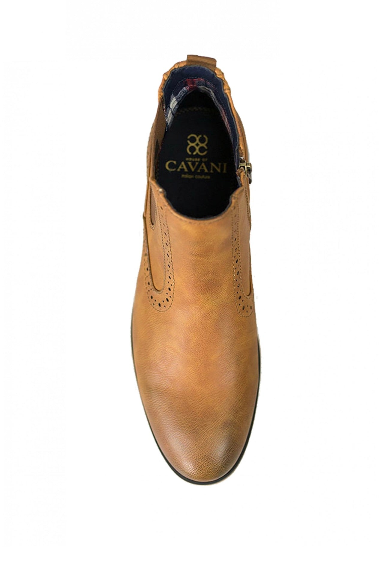 Cavani Fox Chelsea Boot Tan - jjdonnelly
