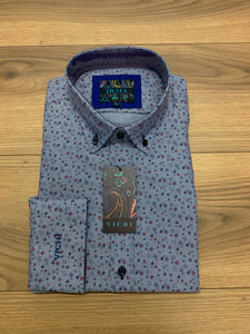 Vichi Tailored Fit Shirt - JAB 2073 Blue - jjdonnelly