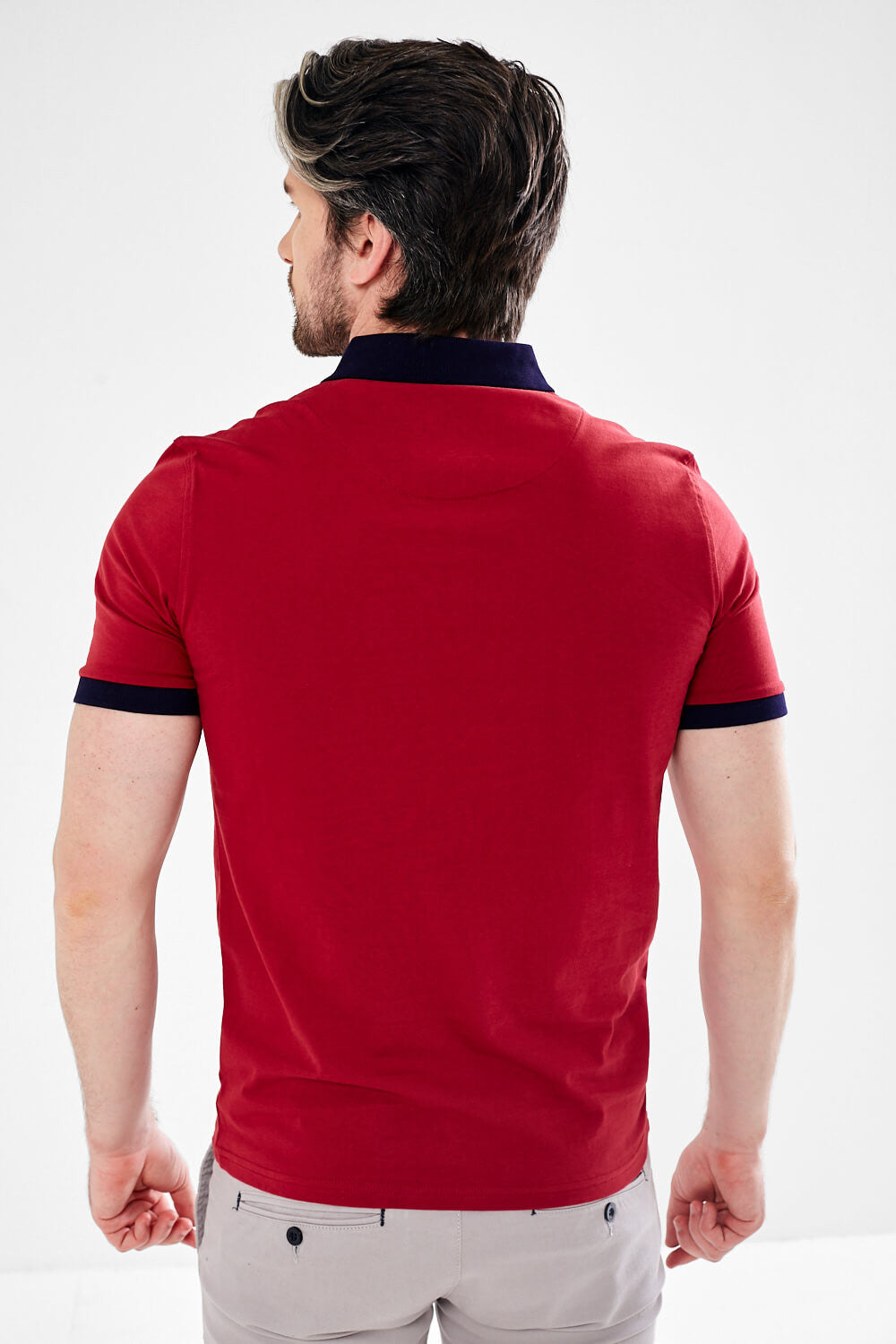Mineral Princess Polo Shirt - Red - jjdonnelly
