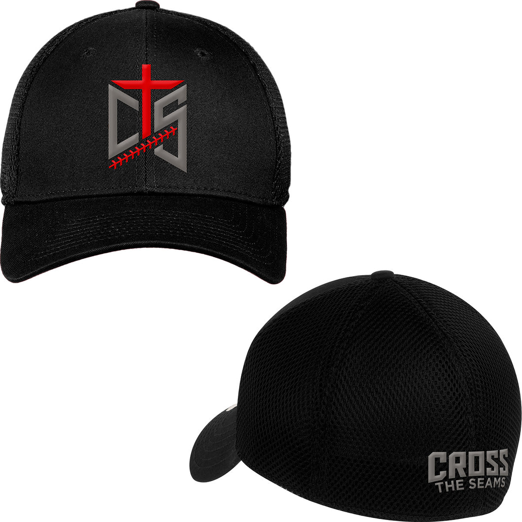 CTS - New Era Fitted Cap in Black - Grey Version