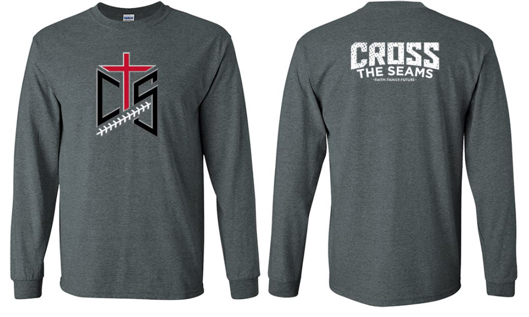 CTS - 3-D Cross the Seams on Long Sleeve Tee - 233530