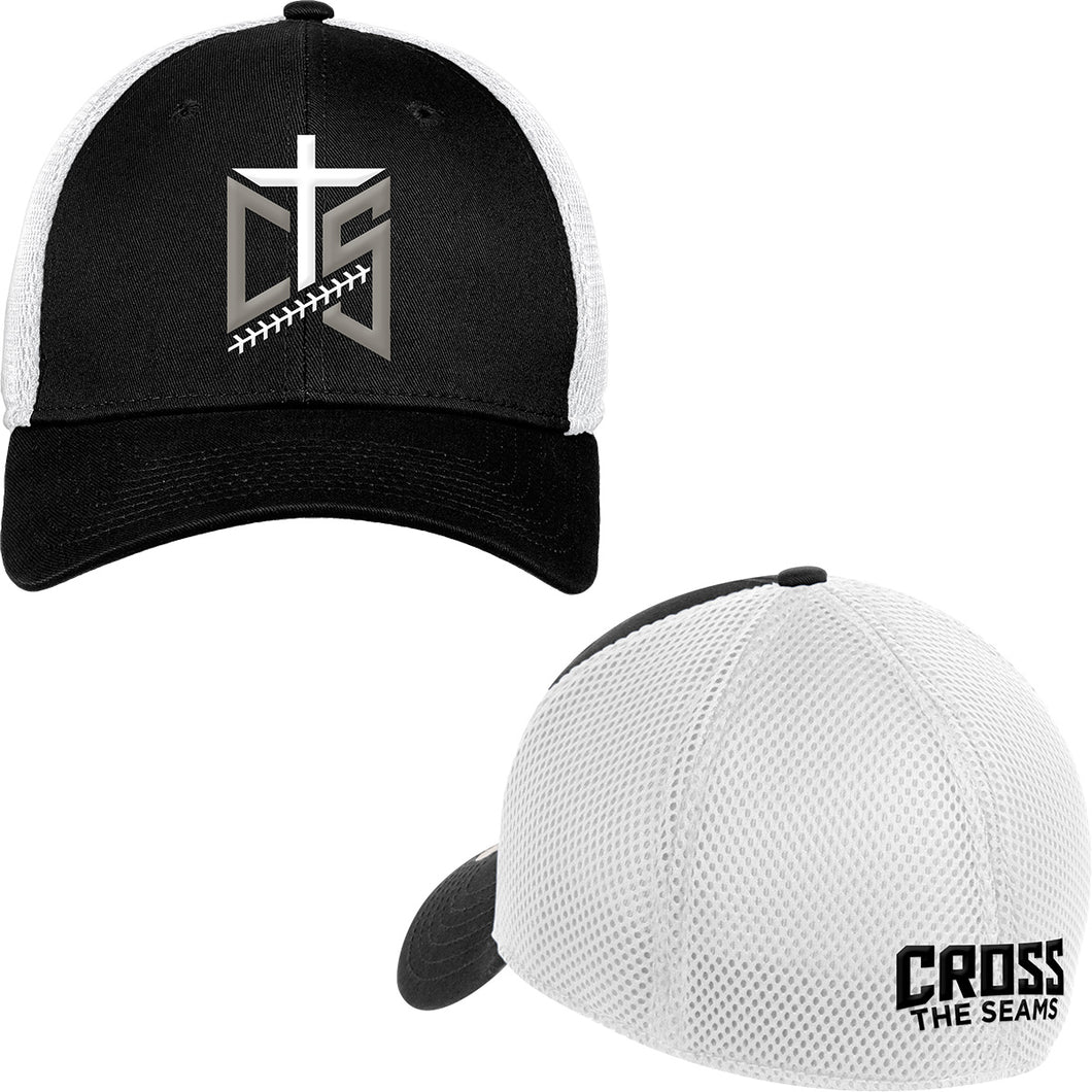CTS - New Era Fitted Cap in Black and White