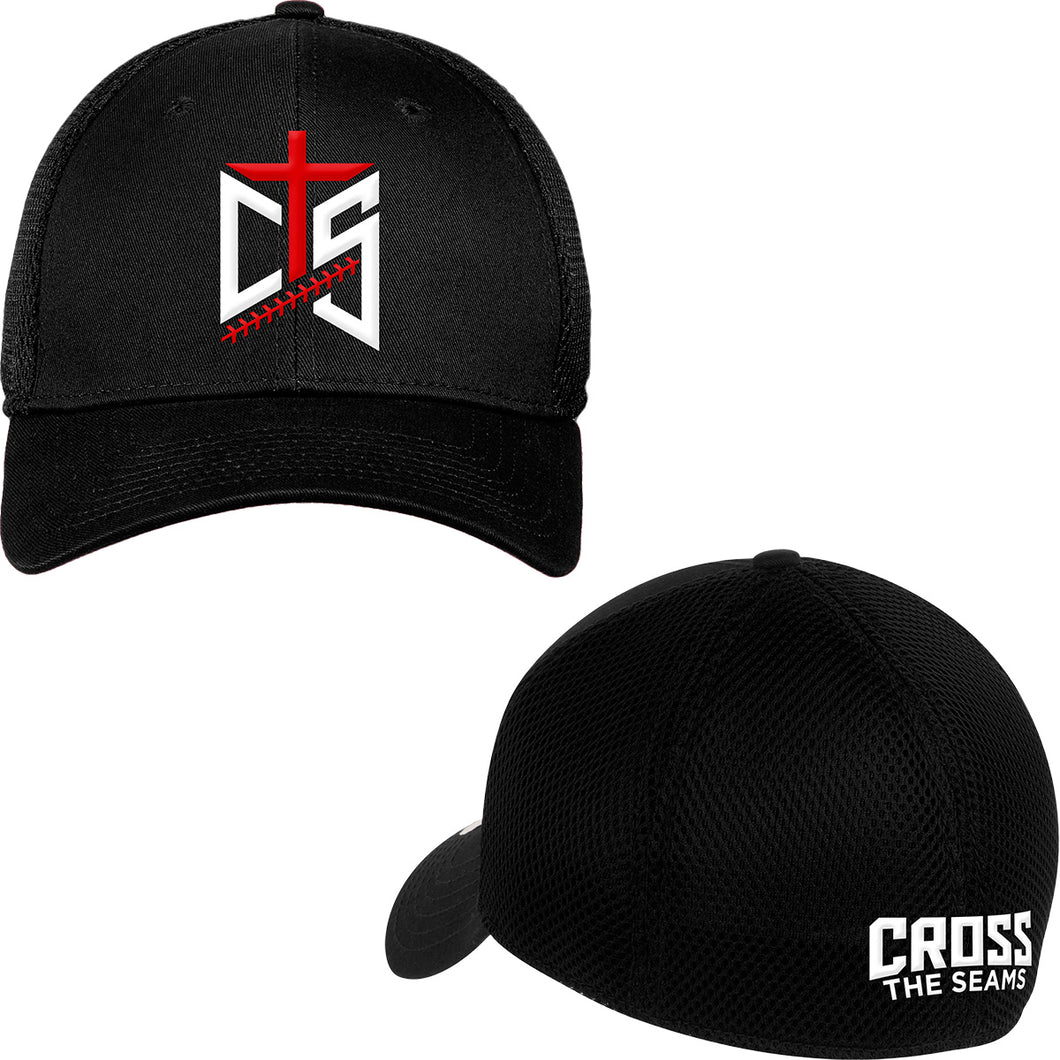 CTS - New Era Fitted Cap in Blackout - Black and Black