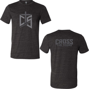 CTS - Cross the Seams Triblend Tee in Charcoal Black Heather - 204814