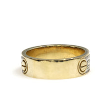 Load image into Gallery viewer, 10K Yellow Gold Cartier Love Ring 0.4 Ctw