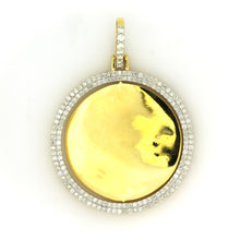Load image into Gallery viewer, 10K Yellow Gold 2 Sided Memory Pendant 2.5 Ctw
