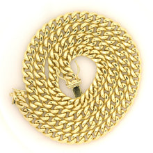 Load image into Gallery viewer, 10k Yellow Gold Miami Cuban Chain 6.7mm 24""