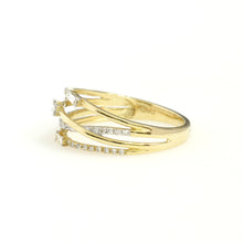 Load image into Gallery viewer, 14K Yellow Gold Fancy Fashion Ring 0.25 Ctw