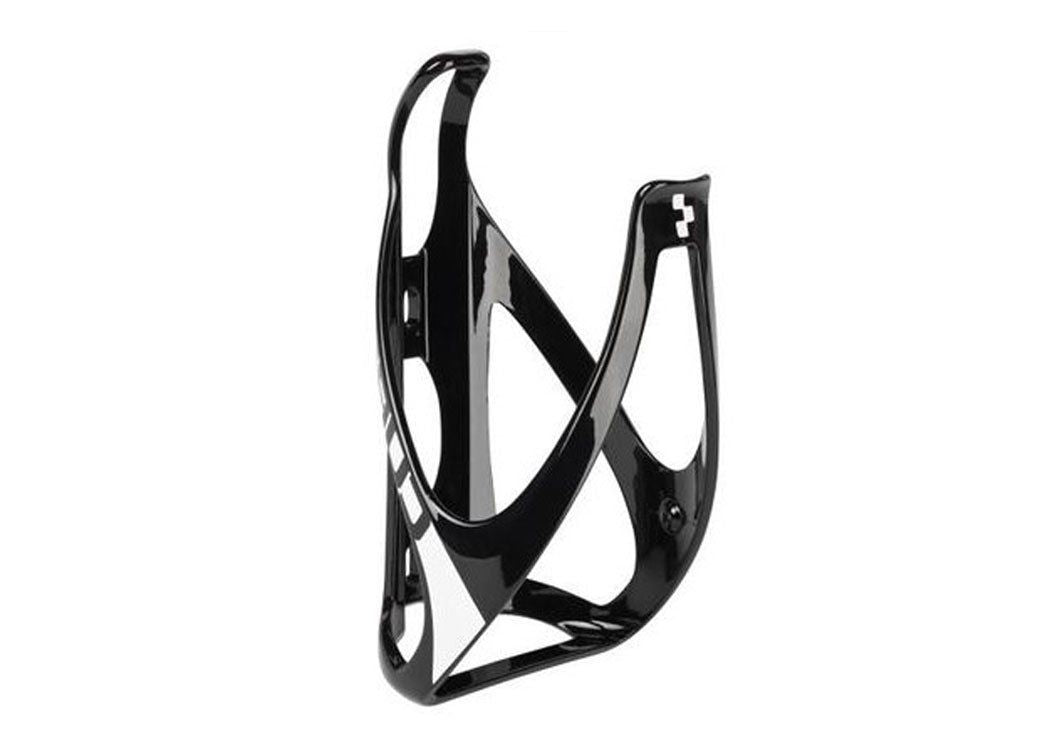 Cube HPP Bottle Cage Glossy Black