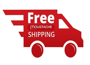 Moustache Free Shipping Canada & USA