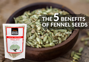 The 5 Benefits of Fennel Seeds