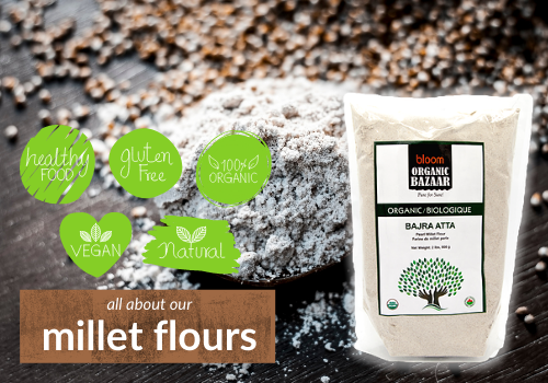 All About our Millet Flours