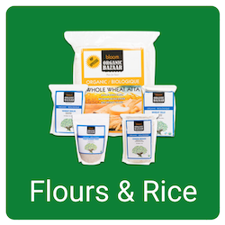 online order organic flour and rice in canada