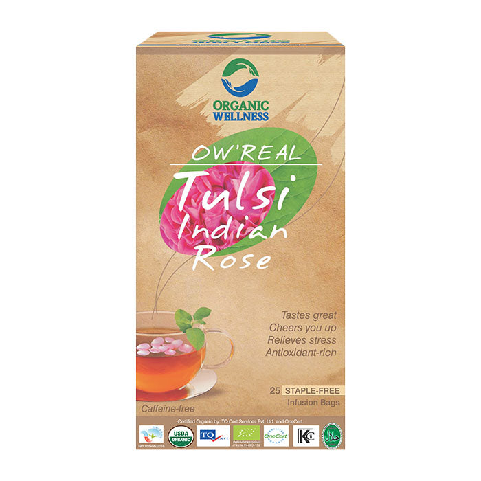 Bloom Organic OW'REAL Tulsi Indian Rose Tea in Canada