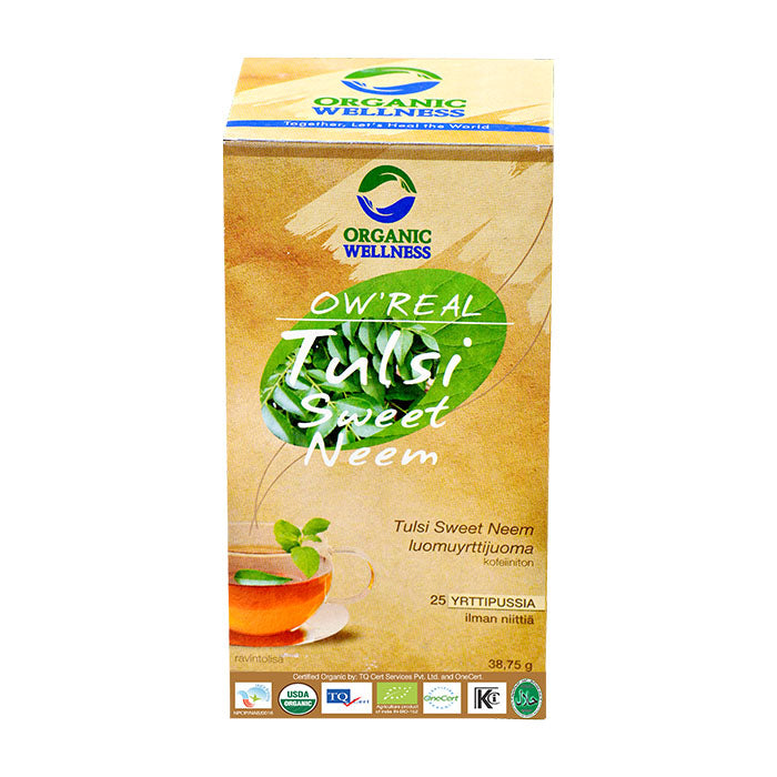 OW'REAL Tulsi Sweet Neem Tea - 25s