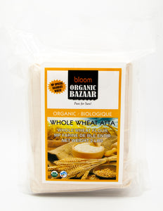 Bloom Organic Whole Wheat Atta 2 Lbs