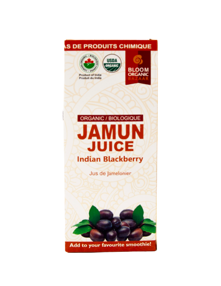 Bloom Organic Jamun (Indian blackberry) Juice 500ml