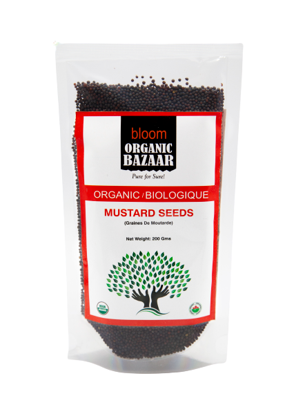 Bloom Organic Mustard Seeds 200 gms