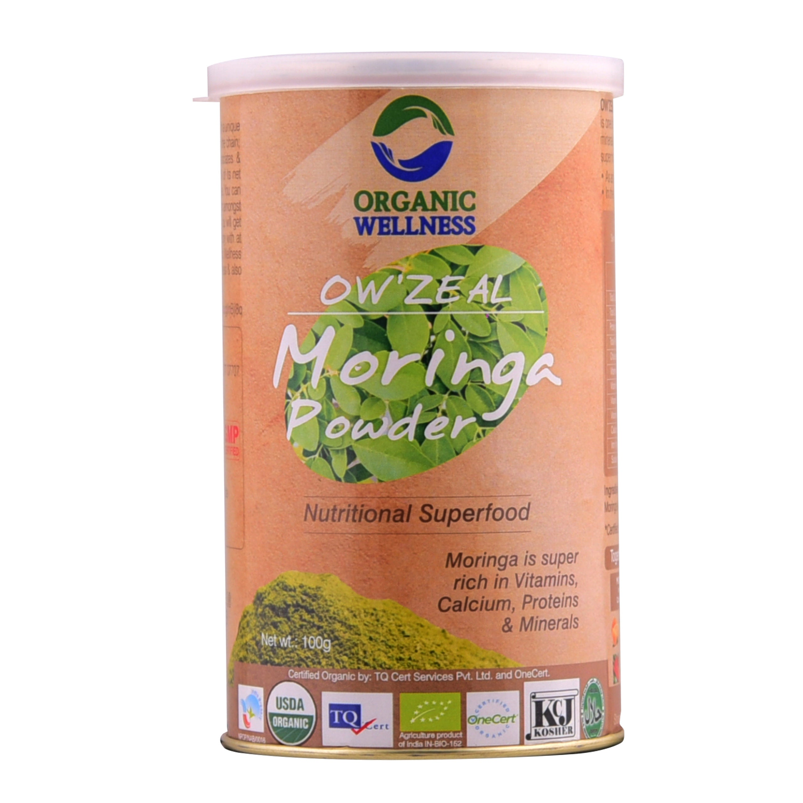 OW'Zeal Moringa Powder, 100 grams