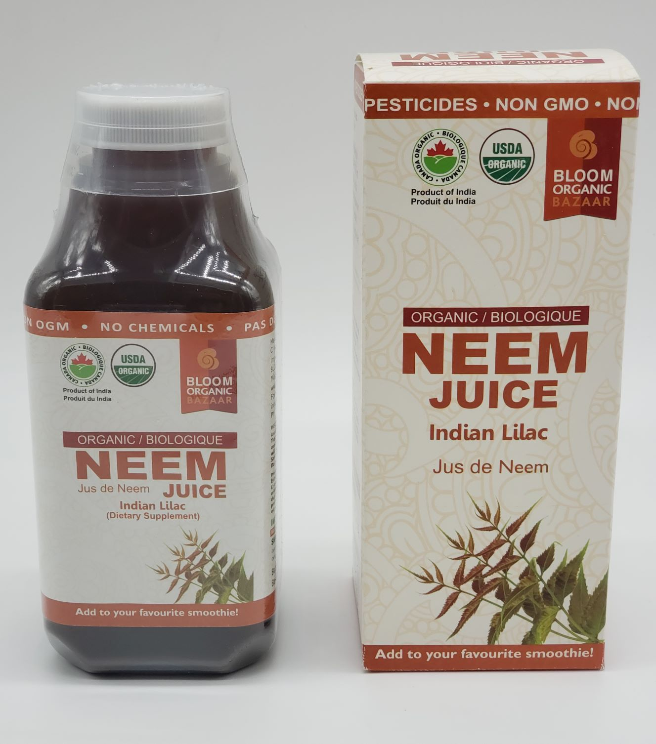 Bloom Organic Neem (Indian lilac) Juice 500ml