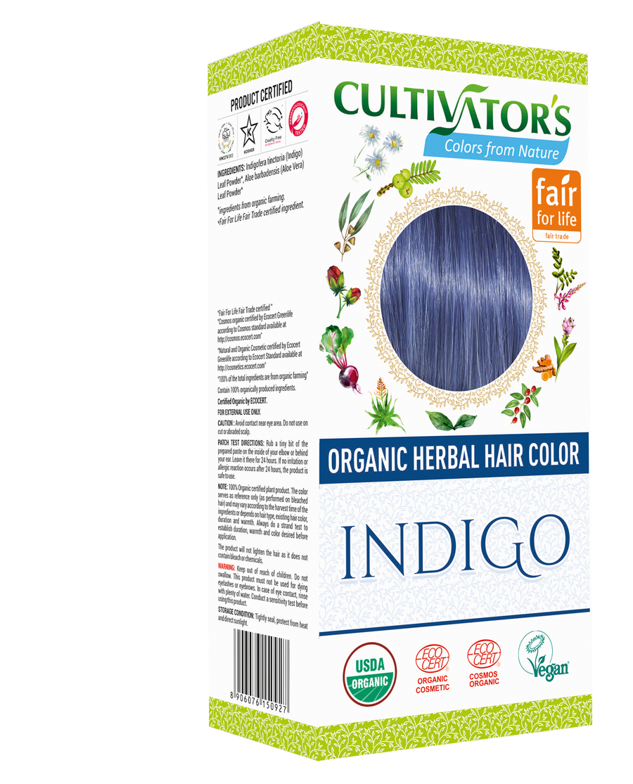 Cultivator's Organic Hair Color - Indigo