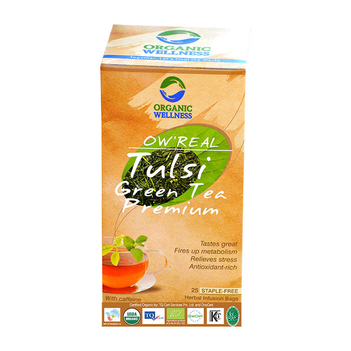 Bloom Organic OW'REAL Tulsi Green Tea in Canada