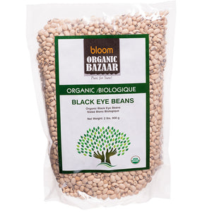 Bloom Organic Black Eye Beans
