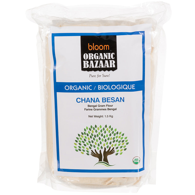Bloom Organic Chana Besan