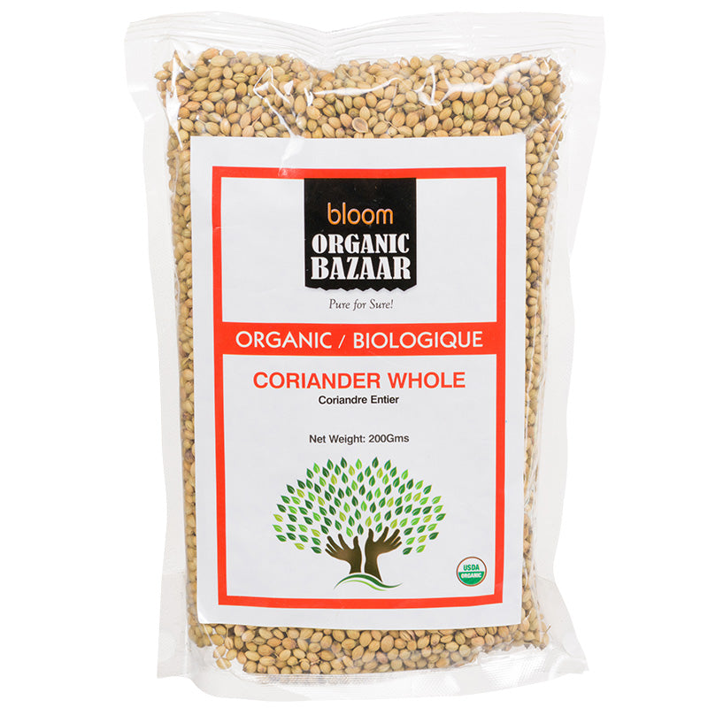 Bloom Organic Coriander Whole in Canada