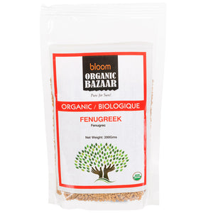 Bloom Organic Fenugreek Seeds (Methi)
