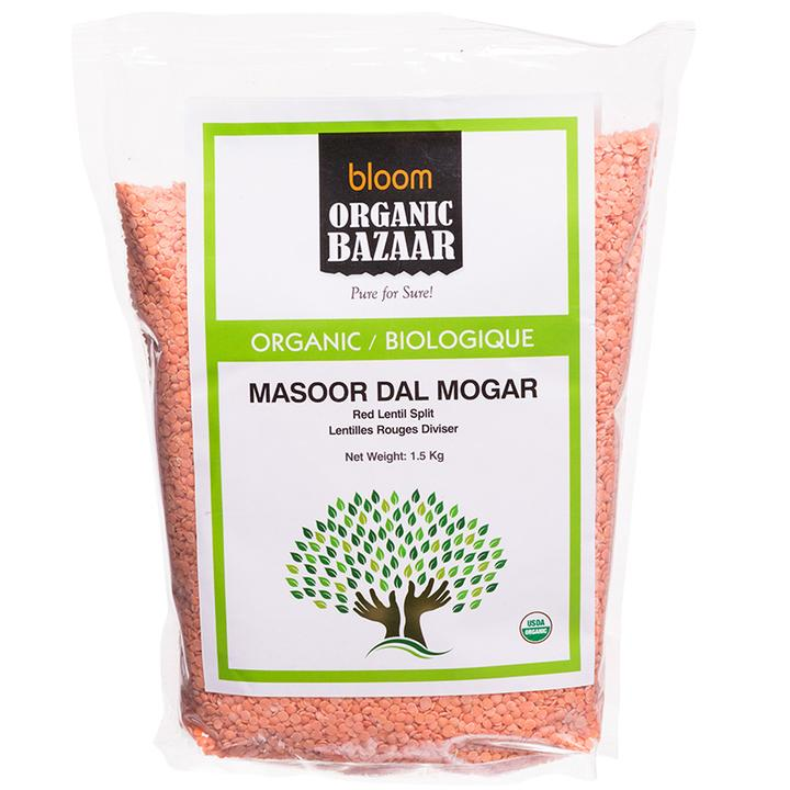 Bloom Organic Masoor Dal Mogar in ON