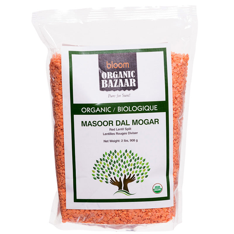 Bloom Organic Masoor Dal Mogar in Canada