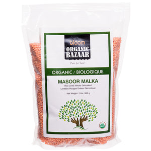 Bloom Organic Masoor Malka in Canada