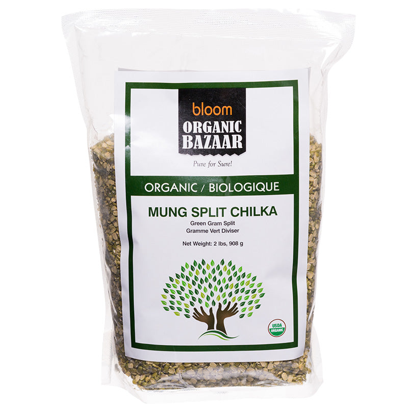 Buy Bloom Organic Mung Split Chilka in canada