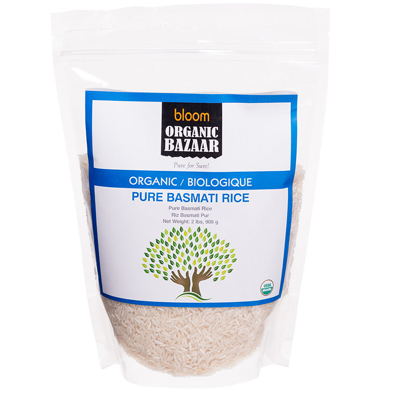 Bloom Organic Pure Basmati Rice