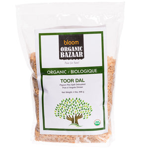 Bloom Organic Toor Dal in canada