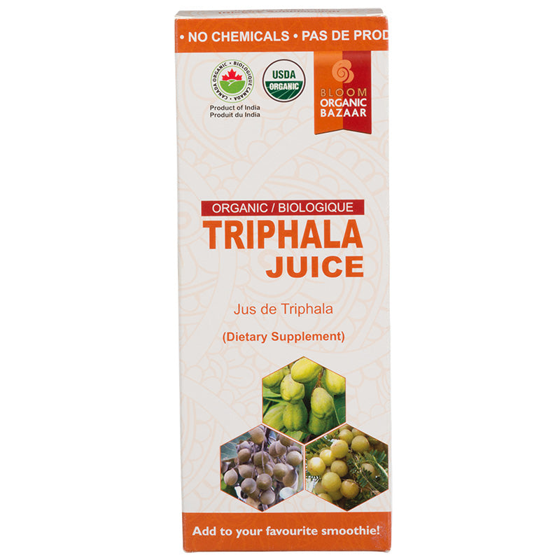 Buy Bloom Organic Triphala Juice