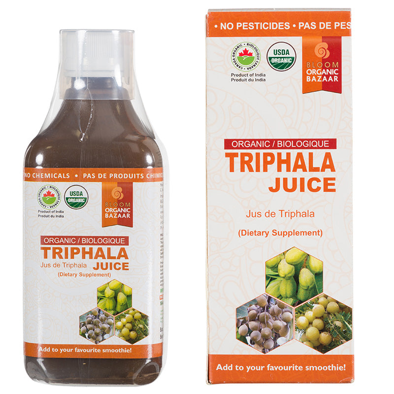 Bloom Organic Triphala Juice in Canada