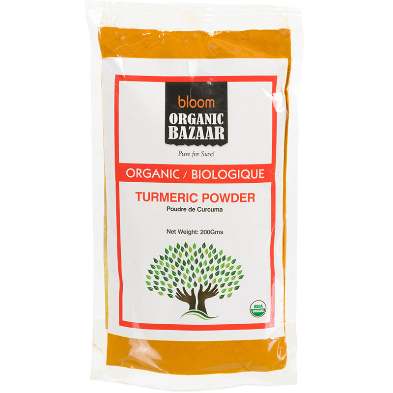 Bloom Organic Turmeric Powder