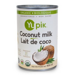 Yupik Organic Coconut Milk 18% 400 mL