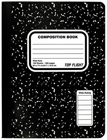 Composition Book (Five Pack)